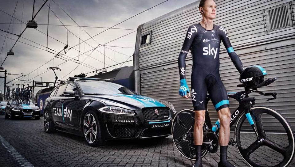 Chris Froome In Bici Sotto Al Mare Archivio Icon Wheels