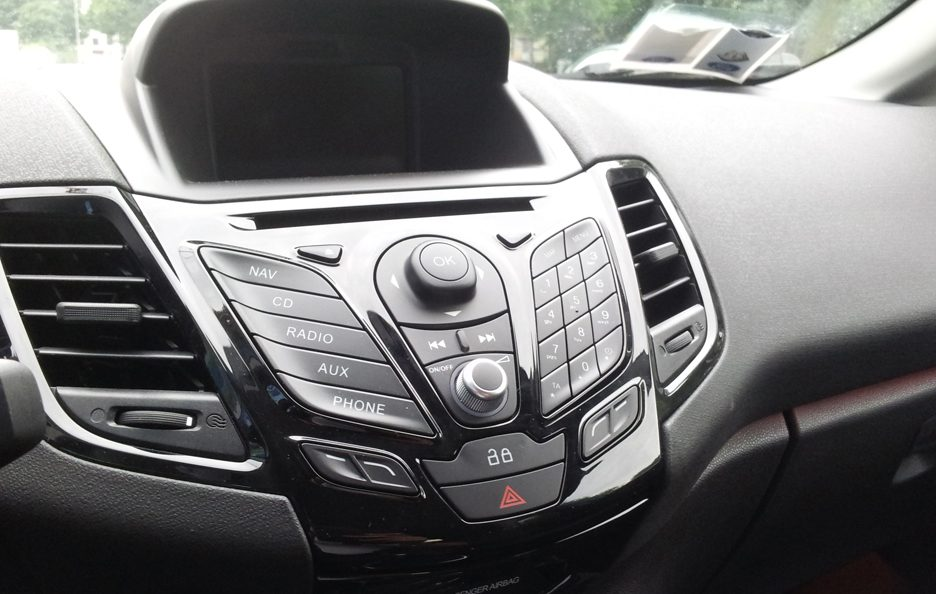 Ford Fiesta consolle centrale