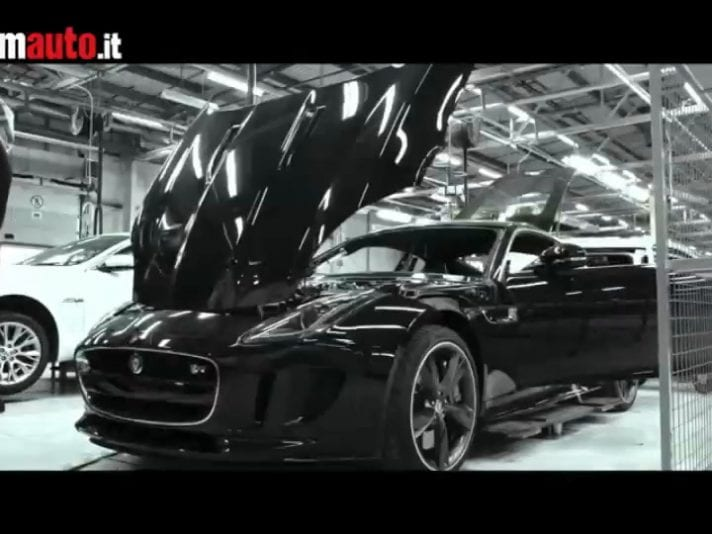 Jaguar F-Type per il Tour de France 2014