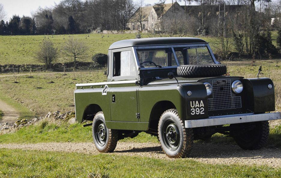 Land Rover Series II 2