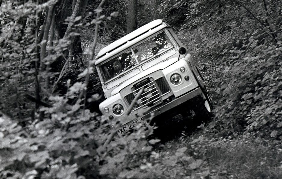 Land Rover Series III frontale 2
