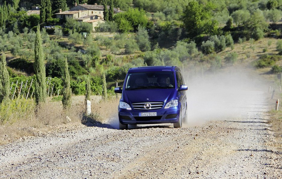 Mercedes Viano restyling frontale