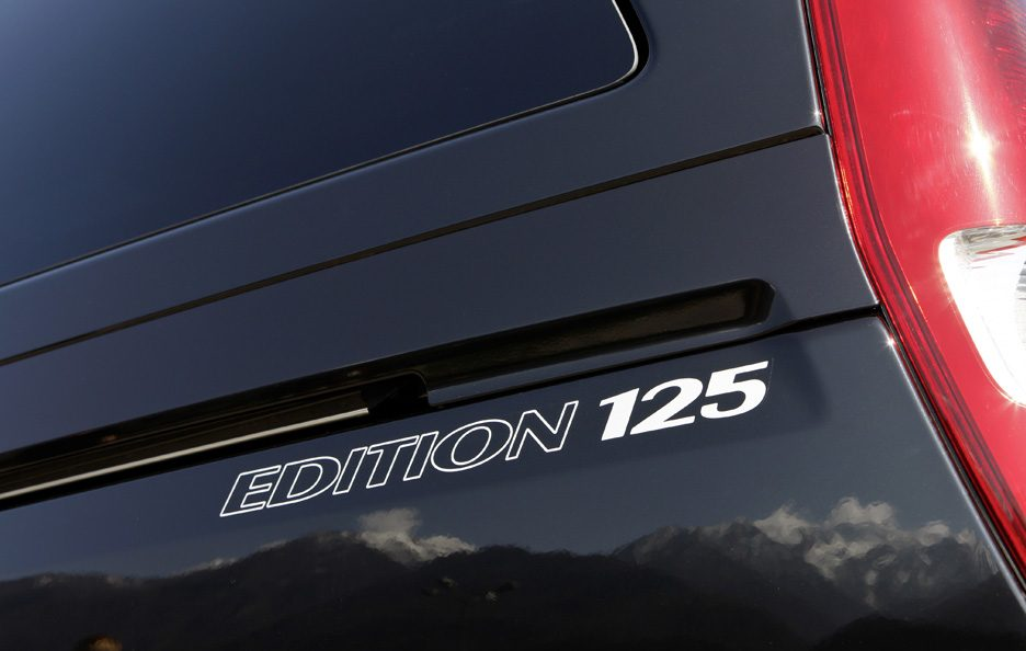 Mercedes Viano restyling logo Edition 125