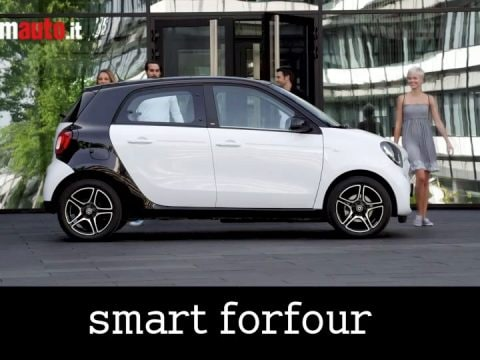 Nuova Smart 2015: Fortwo e Forfour