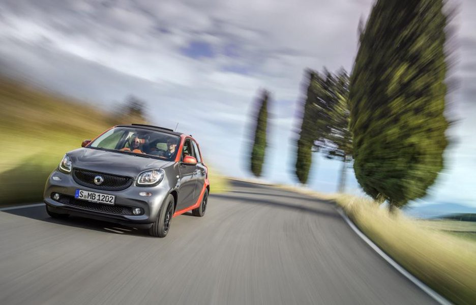 Nuova Smart ForFour