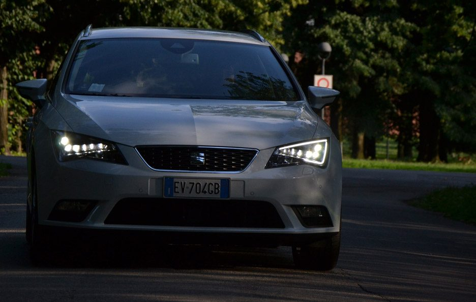 Seat Leon ST frontale 2