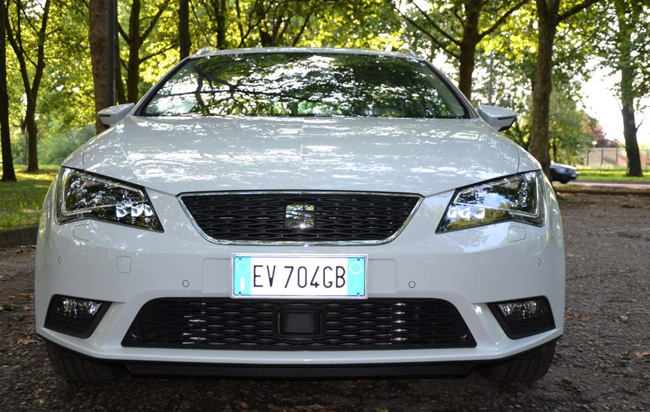 Seat Leon ST frontale