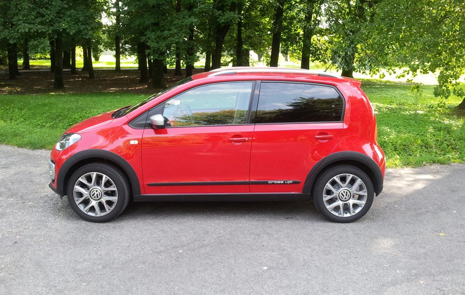 Volkswagen cross up! profilo