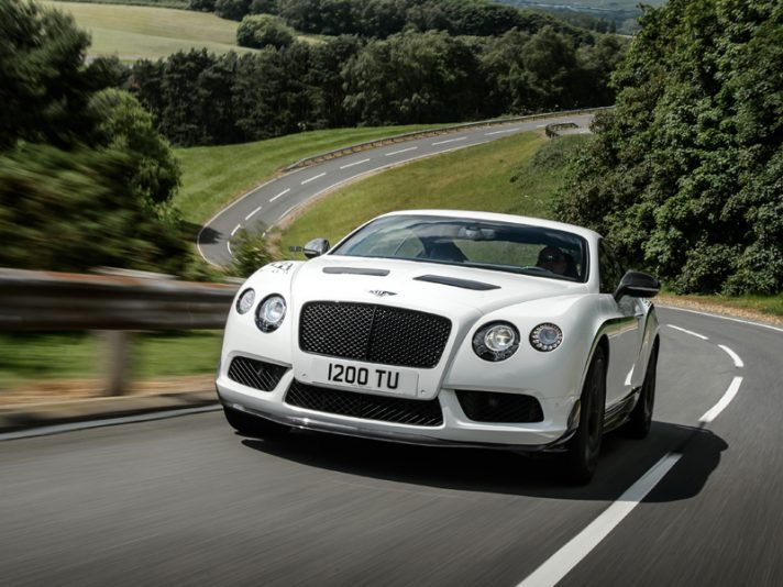 Bentley Continental GT3-R, il debutto a Pebble Beach