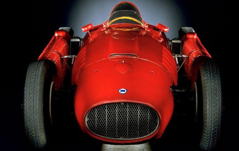 Lancia D50 frontale