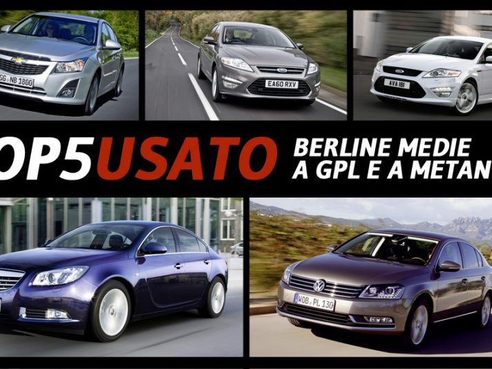 Top5 Usato: berline a GPL e a metano