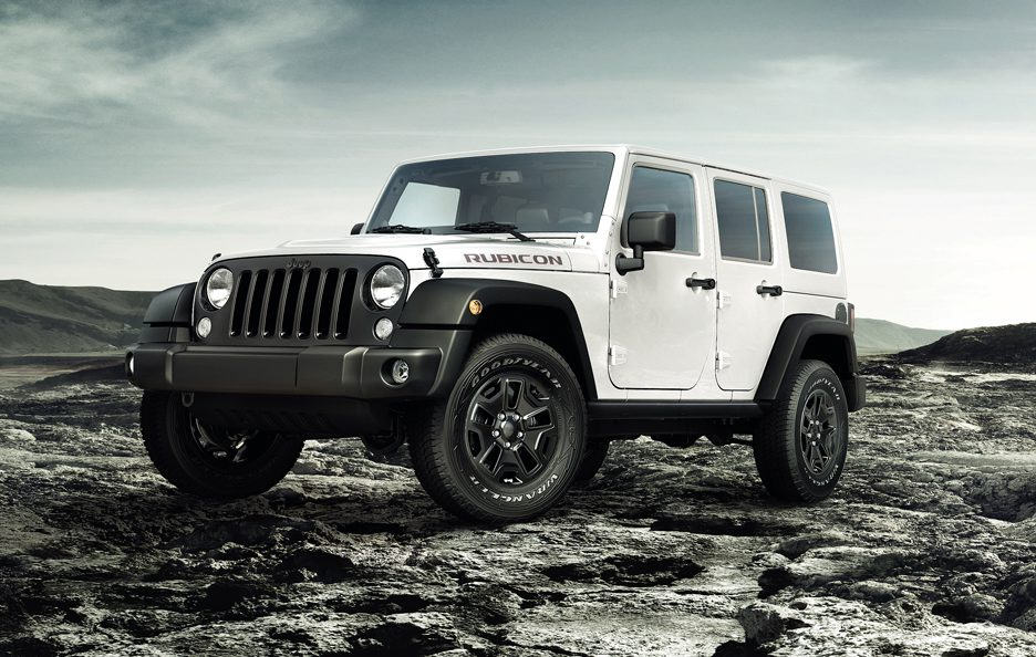 2010 - Jeep Wrangler Unlimited restyling
