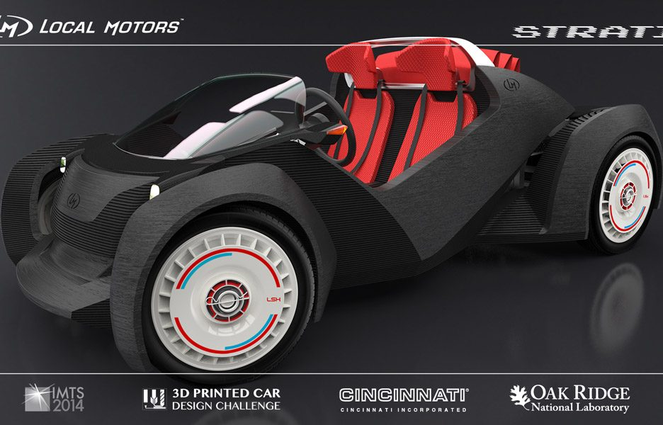 Printed Electric Car