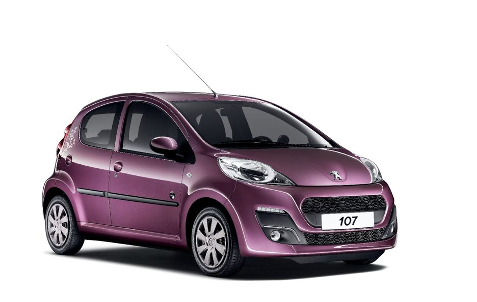 Peugeot 107 secondo restyling