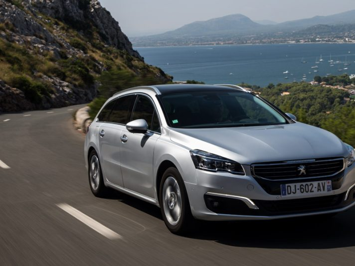 Peugeot 508 SW Restyling 2014