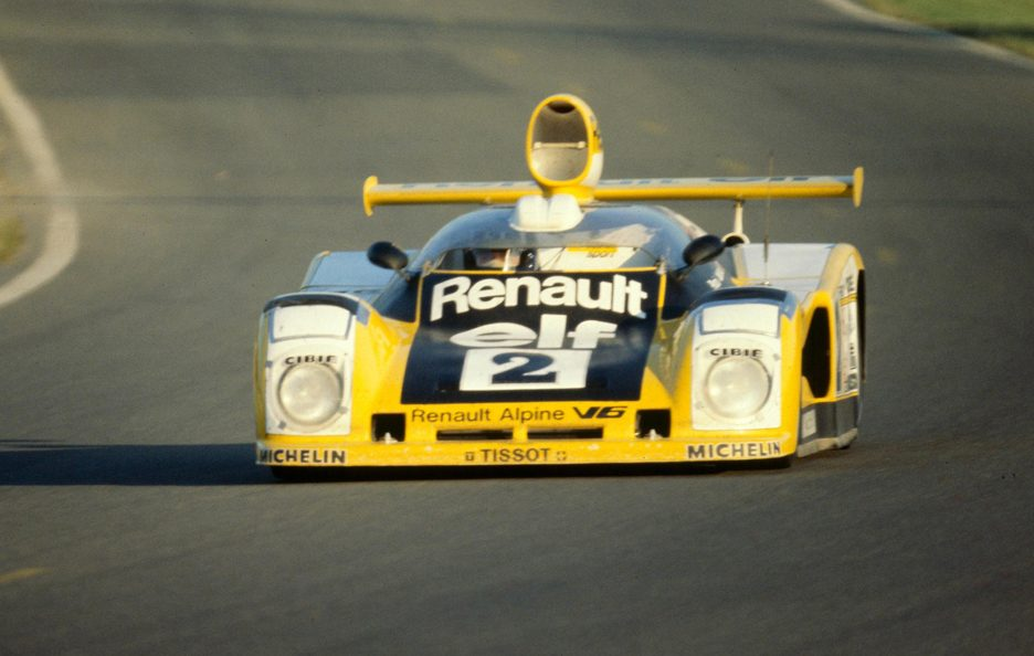 Renault Alpine A442B frontale