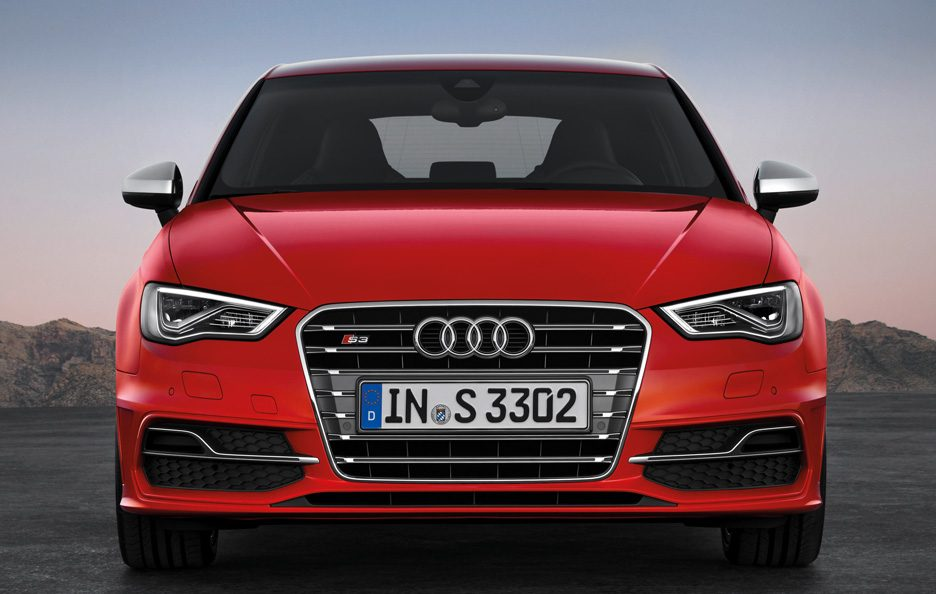 Audi S3 frontale