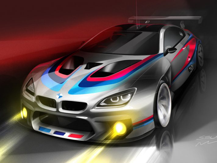 BMW M6 GT3, pronta dal 2016