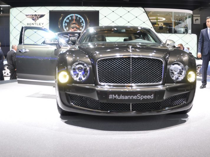 Bentley Mulsanne Speed - Parigi 2014