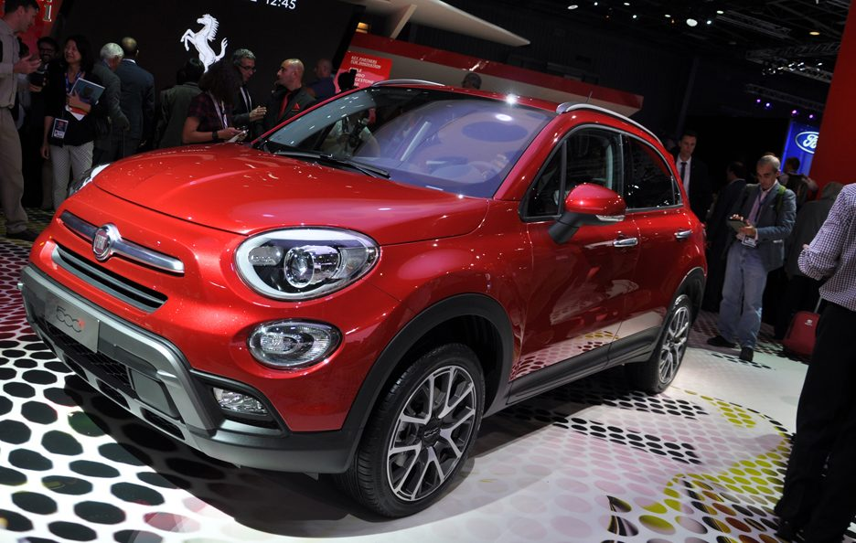 fiat 500x foto panoramauto. Black Bedroom Furniture Sets. Home Design Ideas