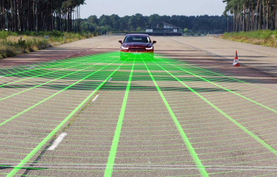 Ford Mondeo Pedestrian Detection