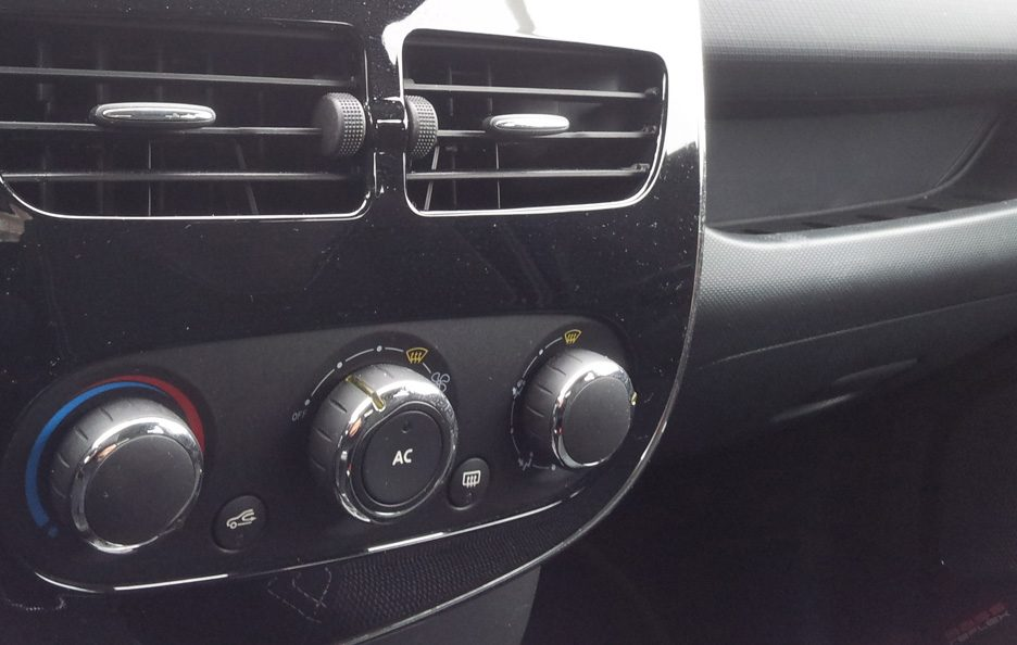 Renault Clio consolle centrale