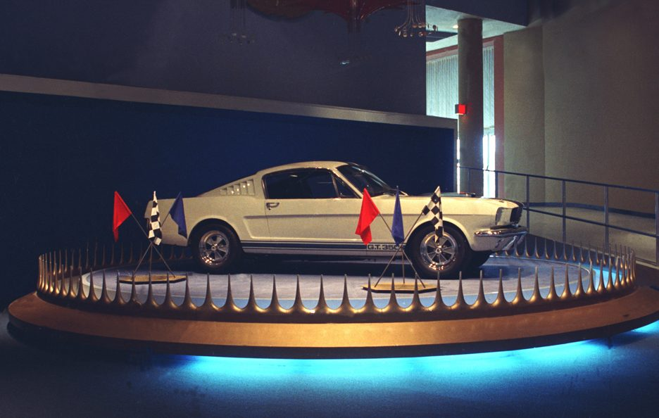Shelby Mustang GT 350 profilo