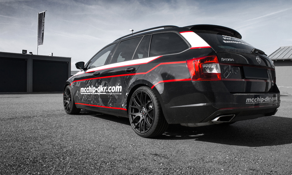 skoda octavia combi rs by mcchip dkr tuning panoramauto. Black Bedroom Furniture Sets. Home Design Ideas