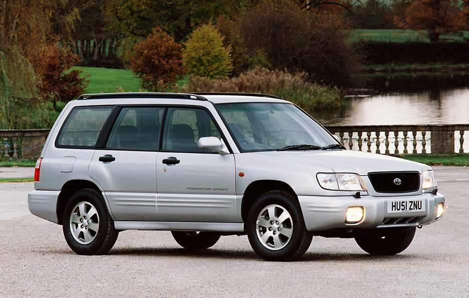 2000 - Subaru Forester SF restyling