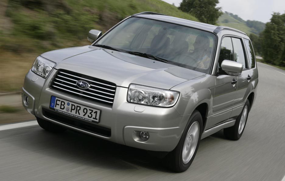 2006 - Subaru Forester SG restyling