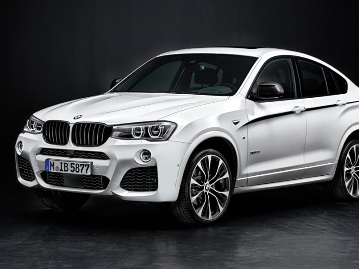 BMW: novità M Performance per X3 e X4