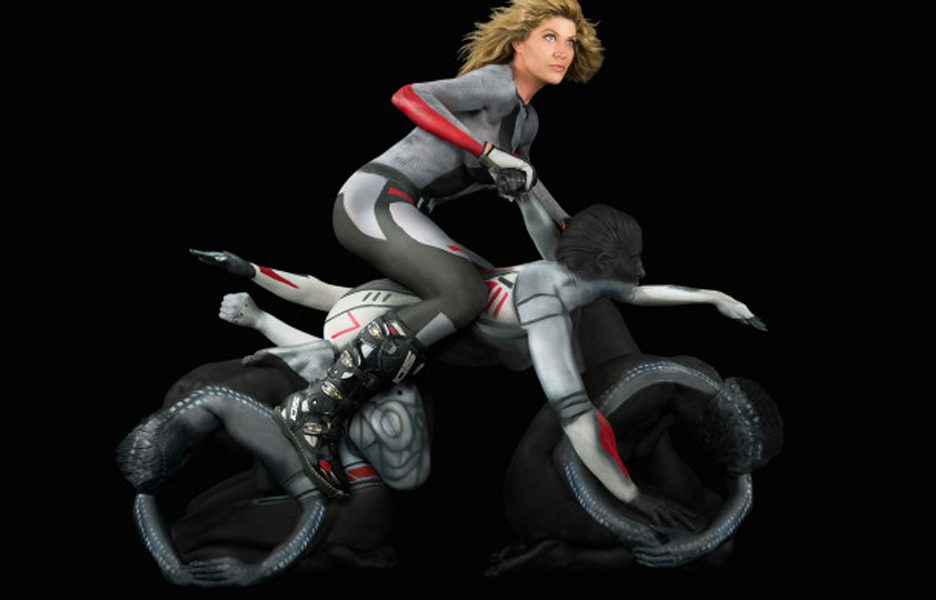 Human Motorcycle Project.