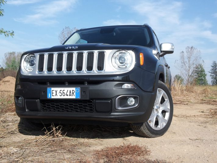 Jeep Renegade frontale