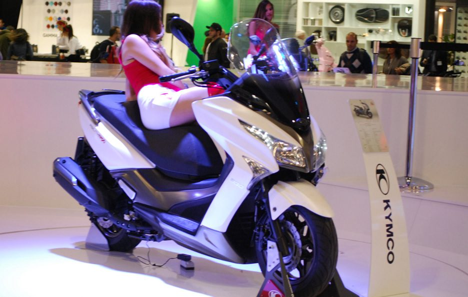 Kymco Downtown 350 2 - EICMA 2014