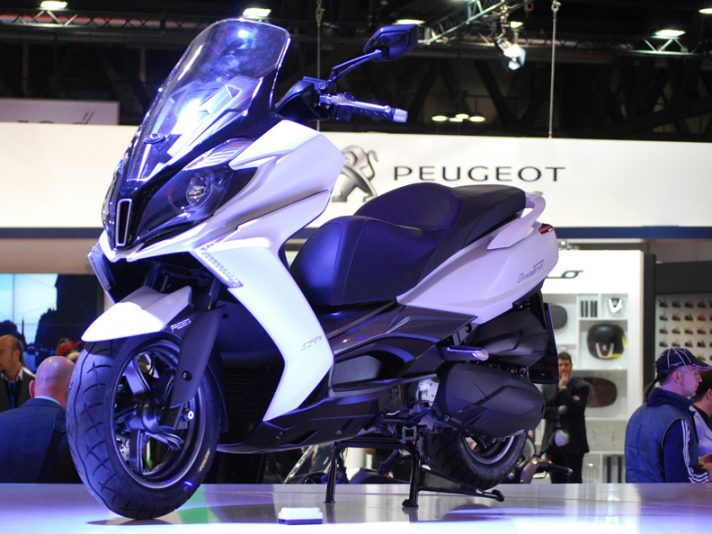 Kymco Downtown 350 - EICMA 2014