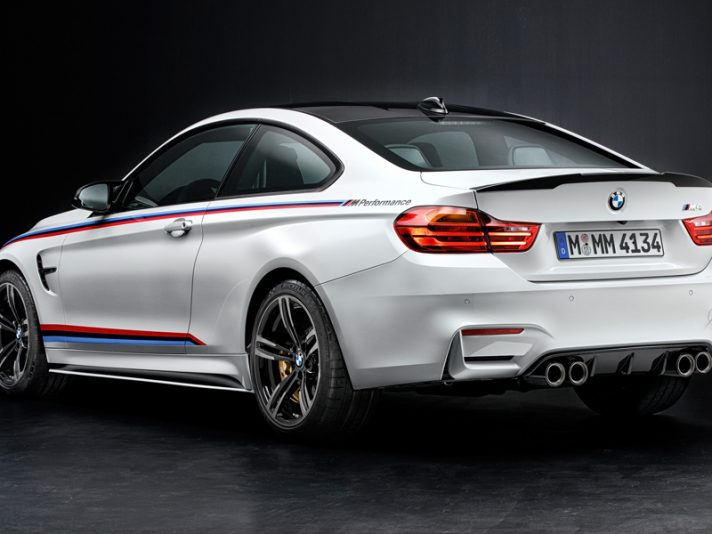 BMW M3 e M4: nuovi accessori M Performance
