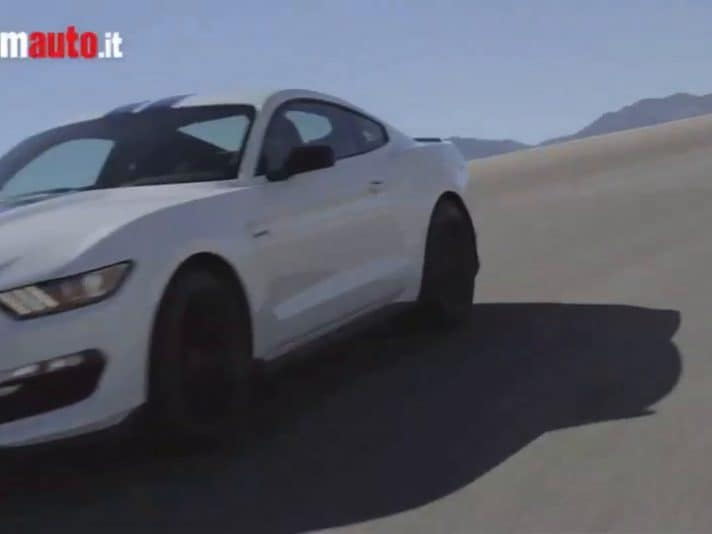 Shelby GT350: la Ford Mustang più performante