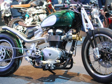 Triumph The Bobber - EICMA 2014