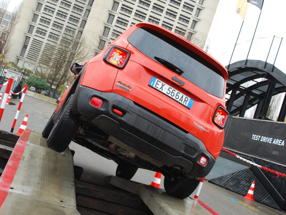Jeep Renegade coda