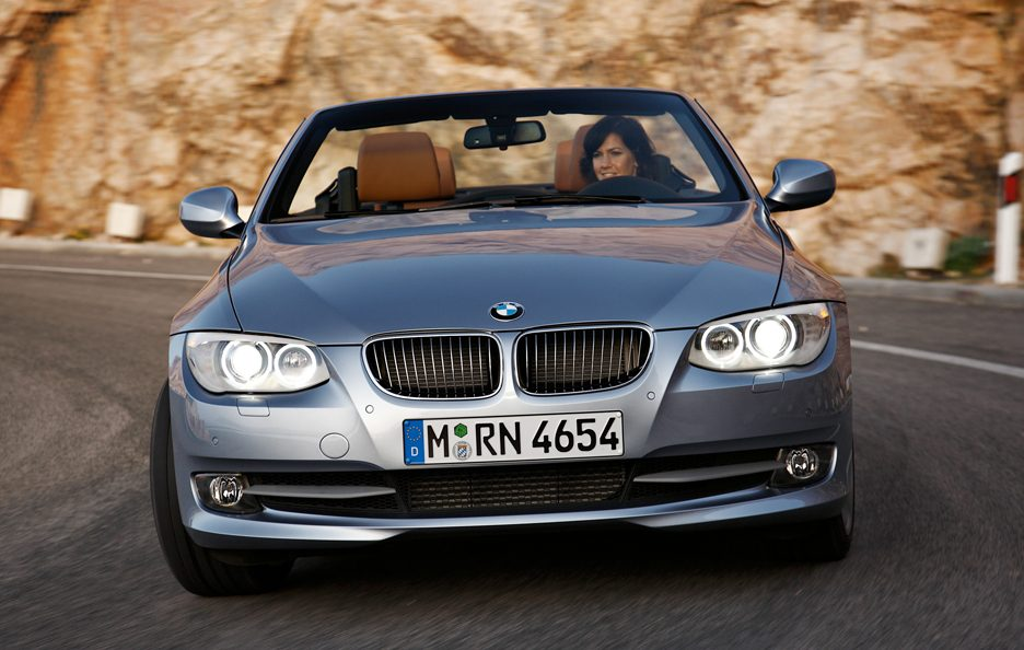 BMW serie 3 Cabrio frontale