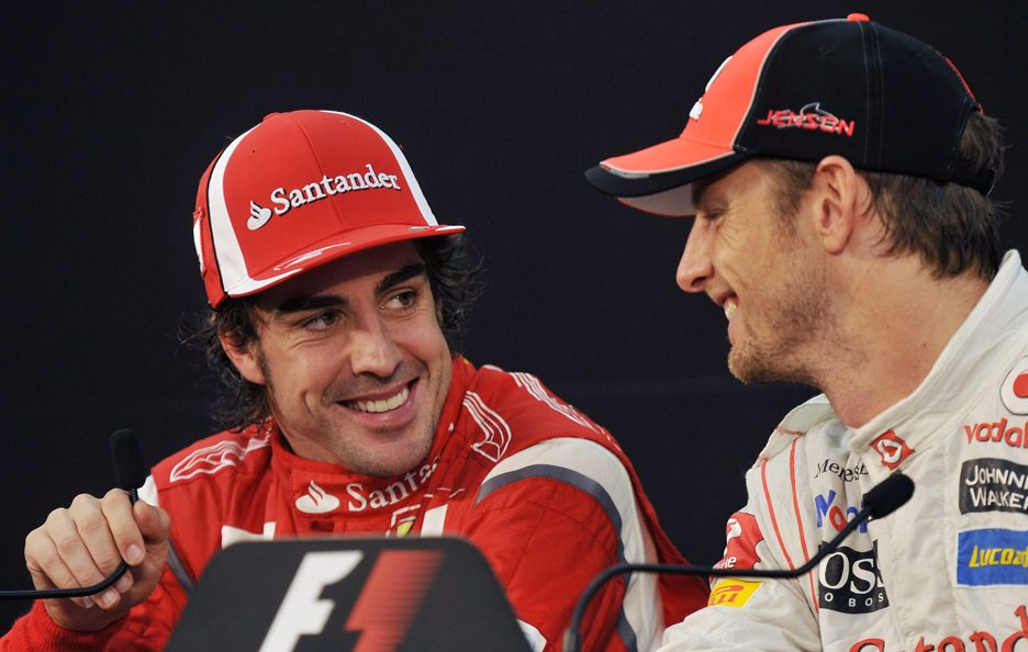 Fernando Alonso e Jenson Button 10