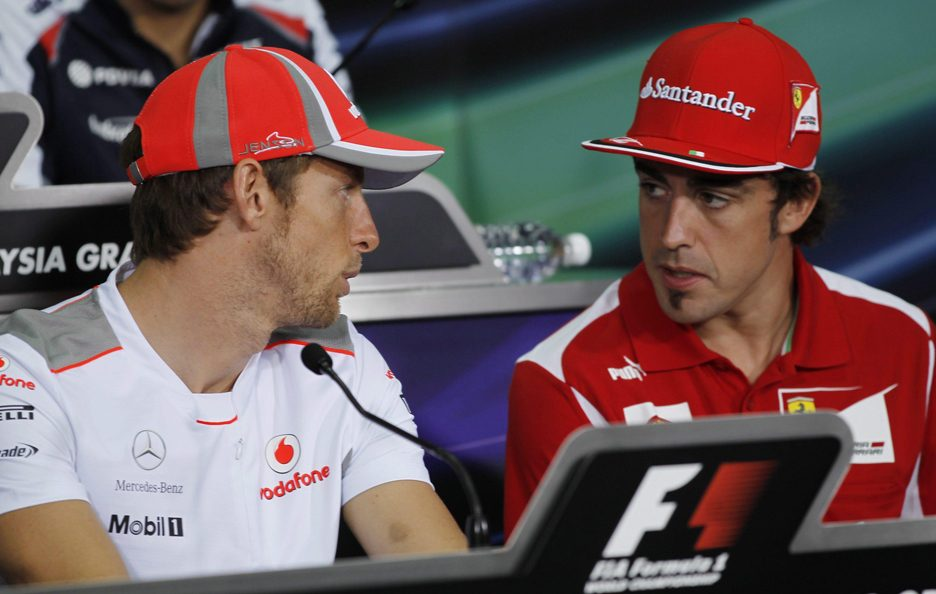 Fernando Alonso e Jenson Button 7