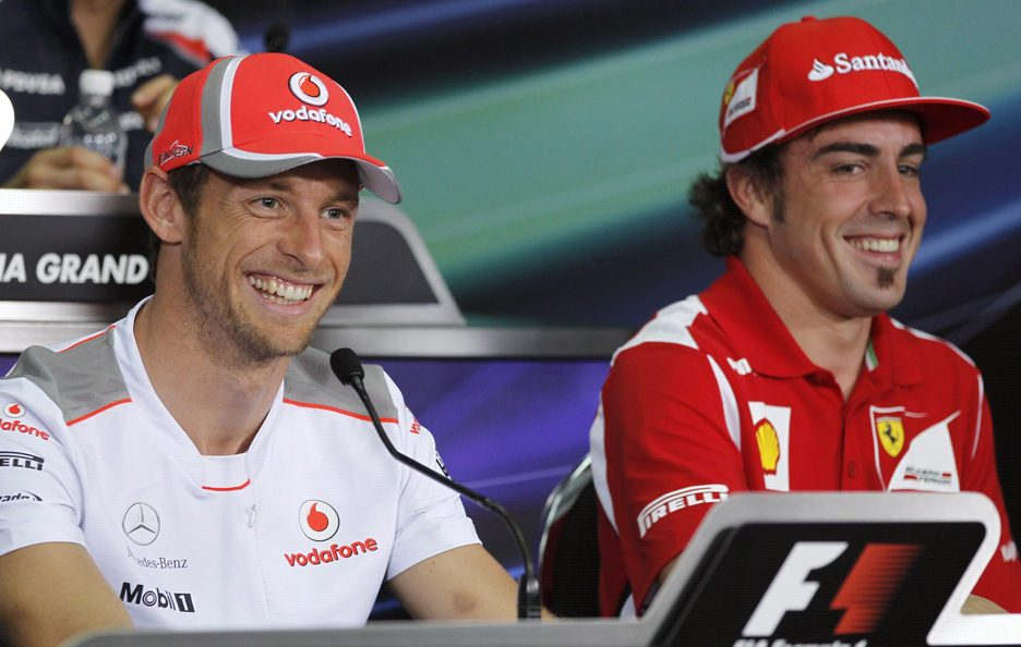 Fernando Alonso e Jenson Button 8