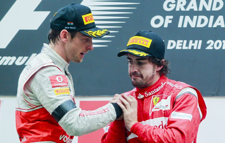 Fernando Alonso e Jenson Button 9