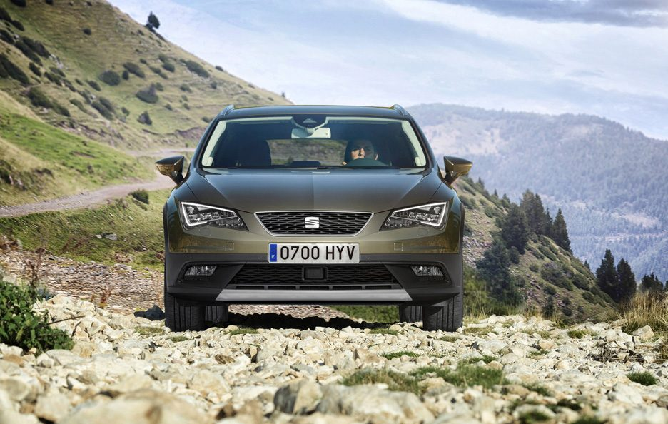 Seat Leon X-Perience frontale