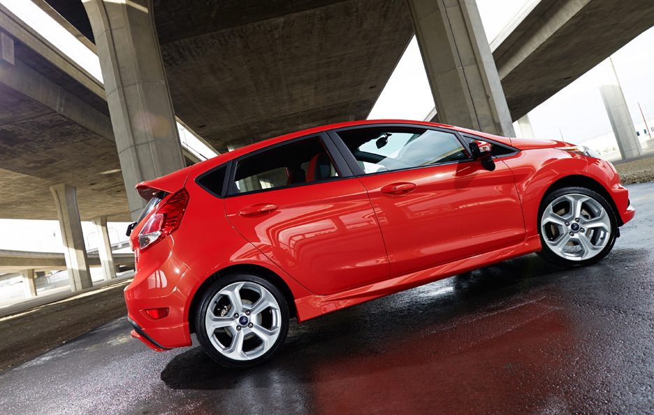 Ford Fiesta ST - Il laterale