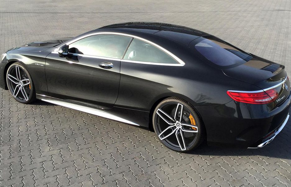 Mercedes S63 Amg Coupé by G Power