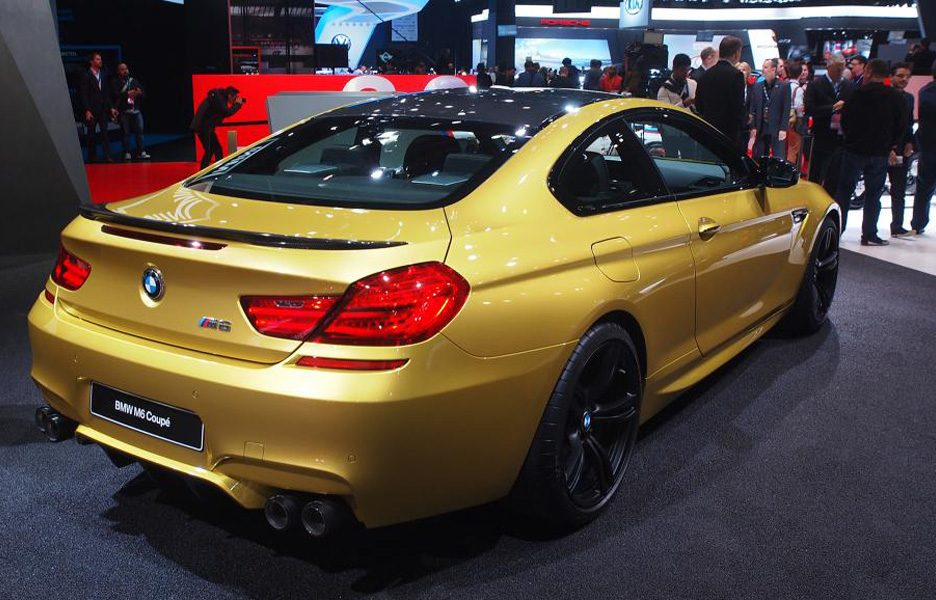 Salone di Detroit 2015 - BMW M6