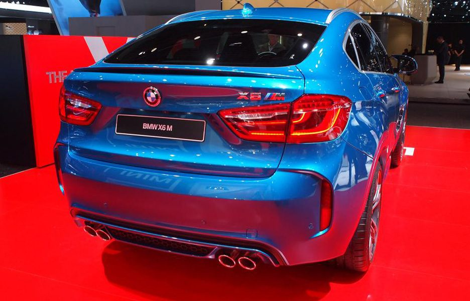Salone di Detroit 2015 - BMW X6 M