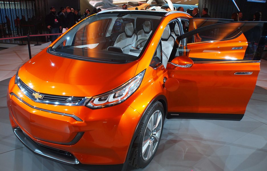 Salone di Detroit 2015 - Chevrolet Bolt